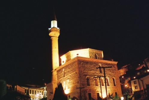 Moschee in der Nacht